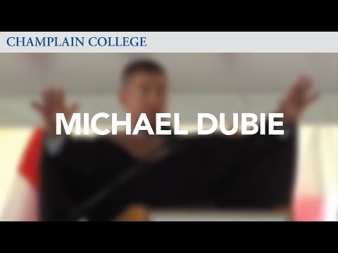 Convocation 2010: Michael Dubie | Champlain College
