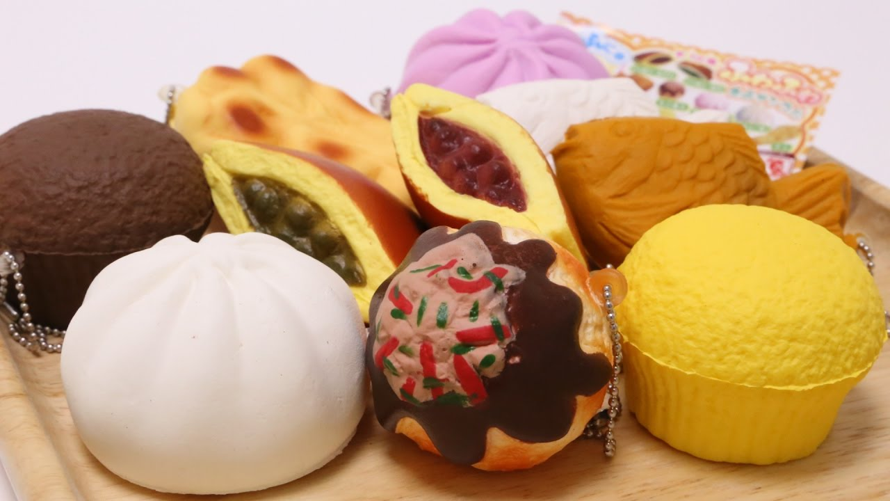 Food sample squishy collection doovi for Cuisine examples
