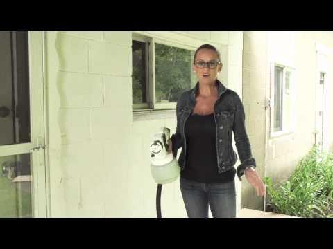 NICOLE CURTIS HOME | 455-515 1.5 Qt. HVLP Paint Spray System & Carry Case