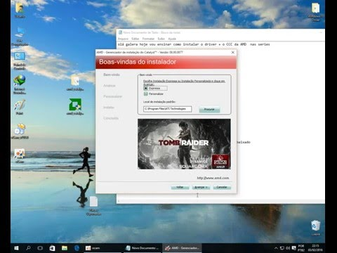 Instalando CCC Windows 10 Series HD 4000 3000 2000