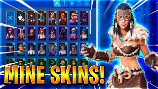 SHOWING MY SKINS + DEATHRUN-English Fortnite