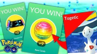 What gave the best Rewards? | Raiding for Rare Candy in Pokemon GO