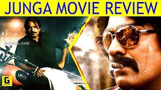Junga Movie Review   Vijay Sethupathy   Gokul   Sayyesha   Madona Sebastin   Yogi Babu