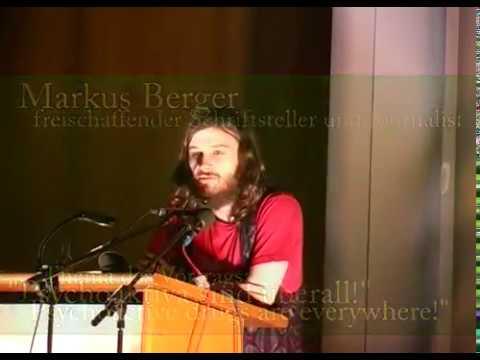 Markus Berger - Psychoaktiva sind überall Vortrag