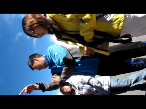 Tour guide explains about Mount Kailash