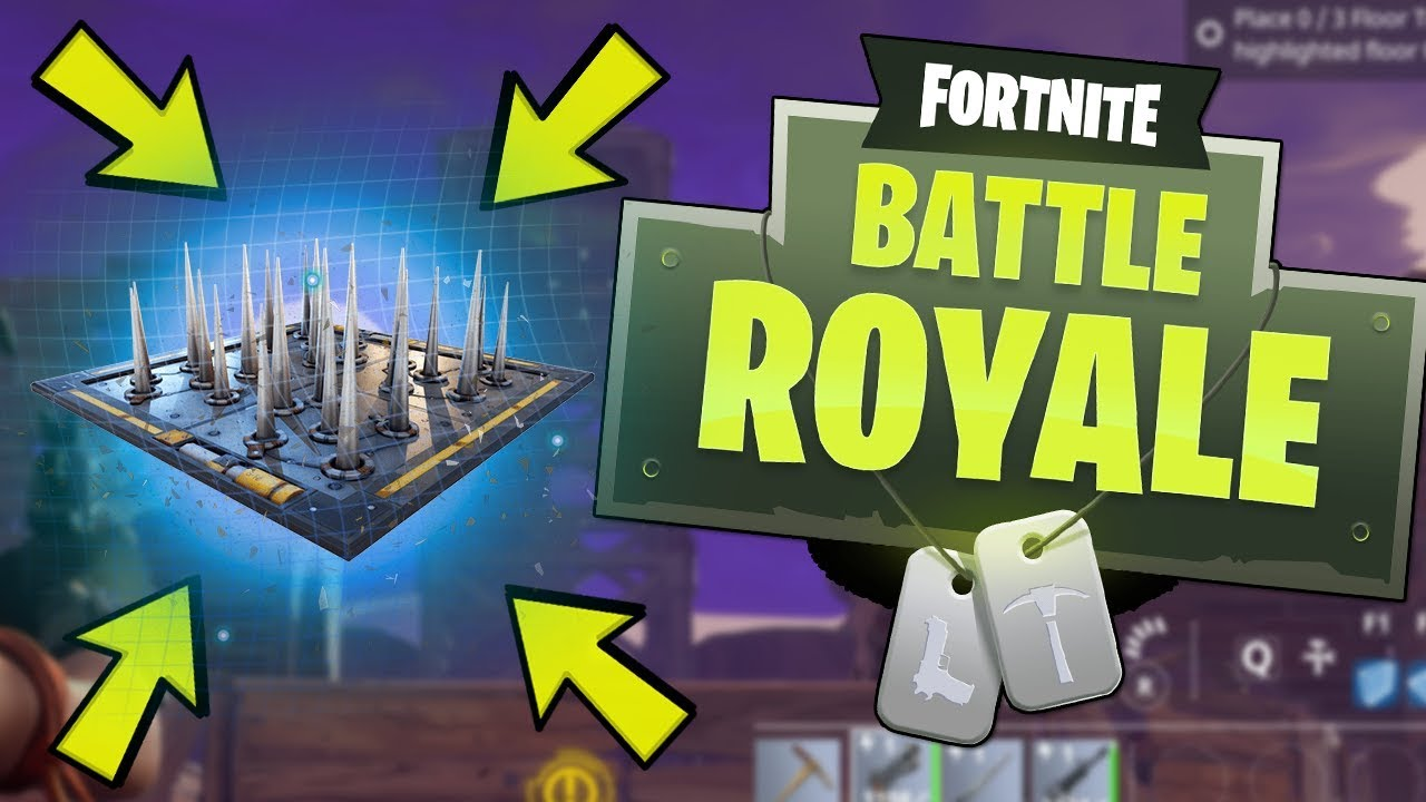 SNEAKY TRAP! (Fortnite Battle Royale) - YouTube
