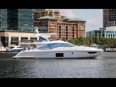 2019 Azimut 55 Flybridge Yacht For Sale At MarineMax Newport, RI