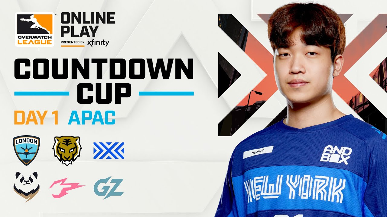 Overwatch League 2020 Season | Countdown Cup | APAC Day 1