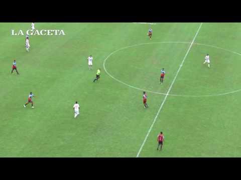 Gol de Quiroga para San Martín de Tucumán ante Brown de Adrogué