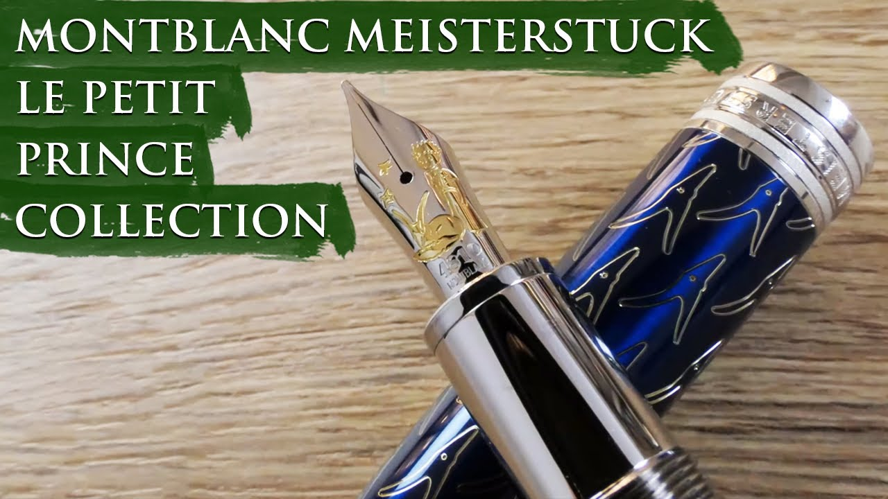 Montblanc Meisterstuck Le Petit Prince Collection Overview