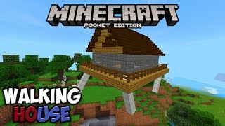 Walking House Addon для Minecraft PE 1.1