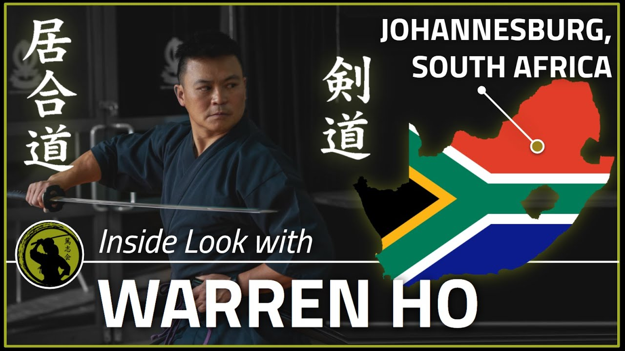 Kendo / Iaido (South Africa) Warren Ho | Inside Look Podcast #071