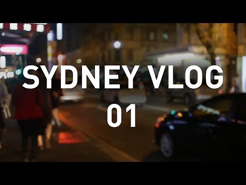 Pushing Film VLOG - Sydney 01