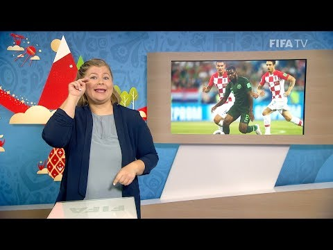 FIFA WC 2018 - CRO vs. NGA – for Deaf and Hard of Hearing - International Sign