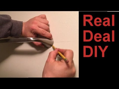 How To Hang A Towel Bar And Install Drywall Anchors