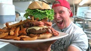 Titanic Burger Challenge Eaten in 1:50