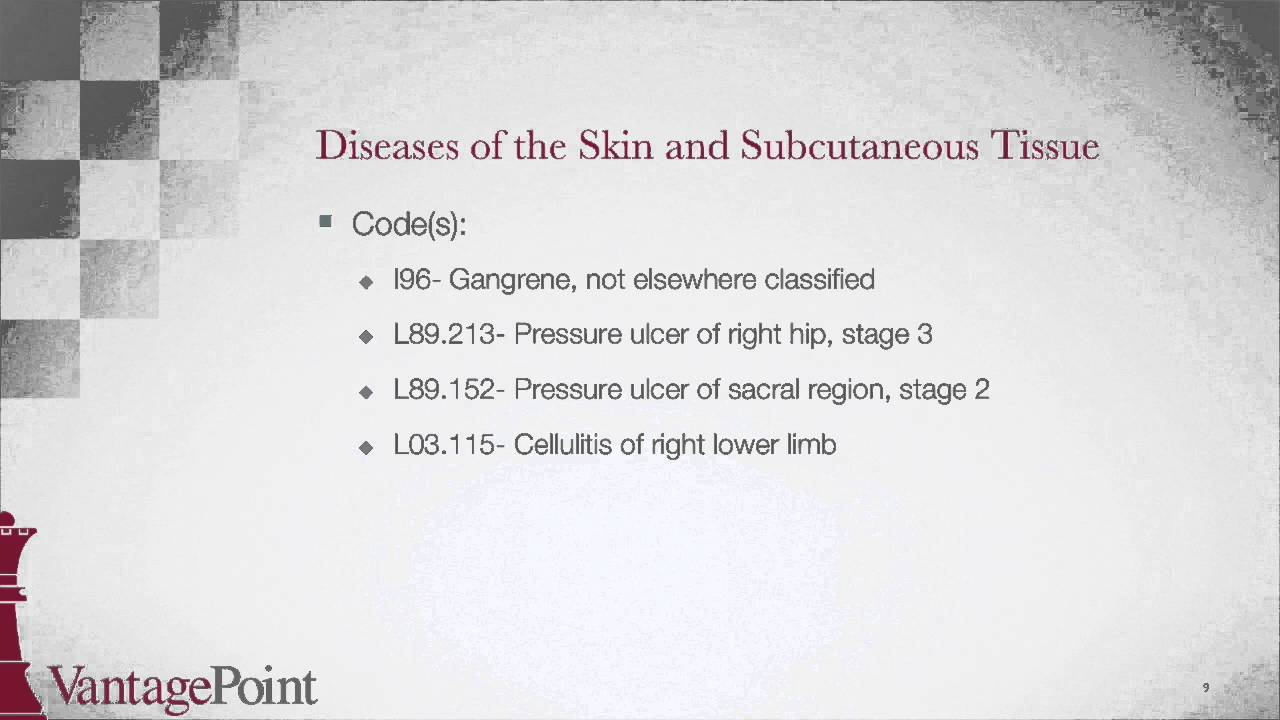 ICD-10-CM BootCamp: Diseases of the Skin and Subcutaneous Tissue - YouTube