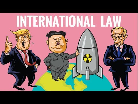 International Law explained by Hesham Elrafei  What are the sources of International Law  YouTube