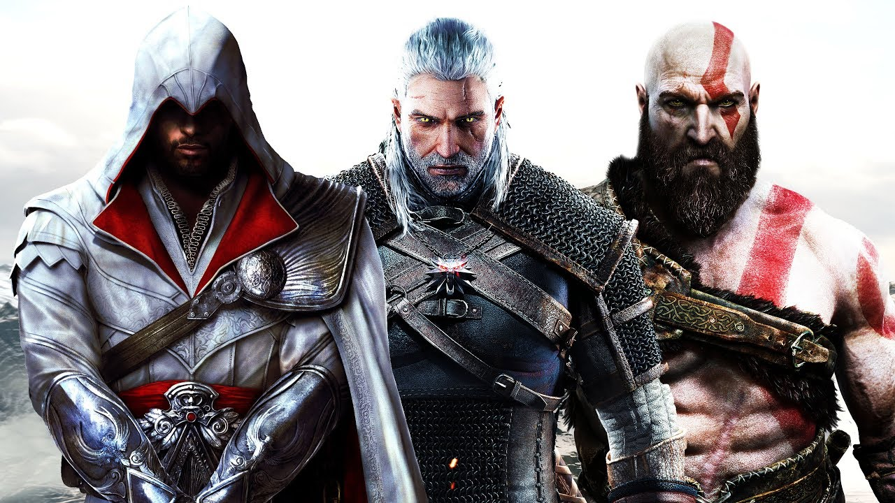 Assassin S Creed X The Witcher X God Of War Theme Mashup Youtube