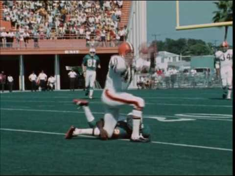1970 Browns at Dolphins Game 6