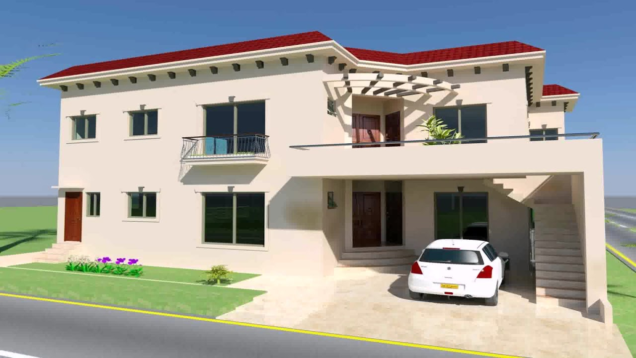 Front Elevation House Chandigarh : Marla house design in chandigarh youtube