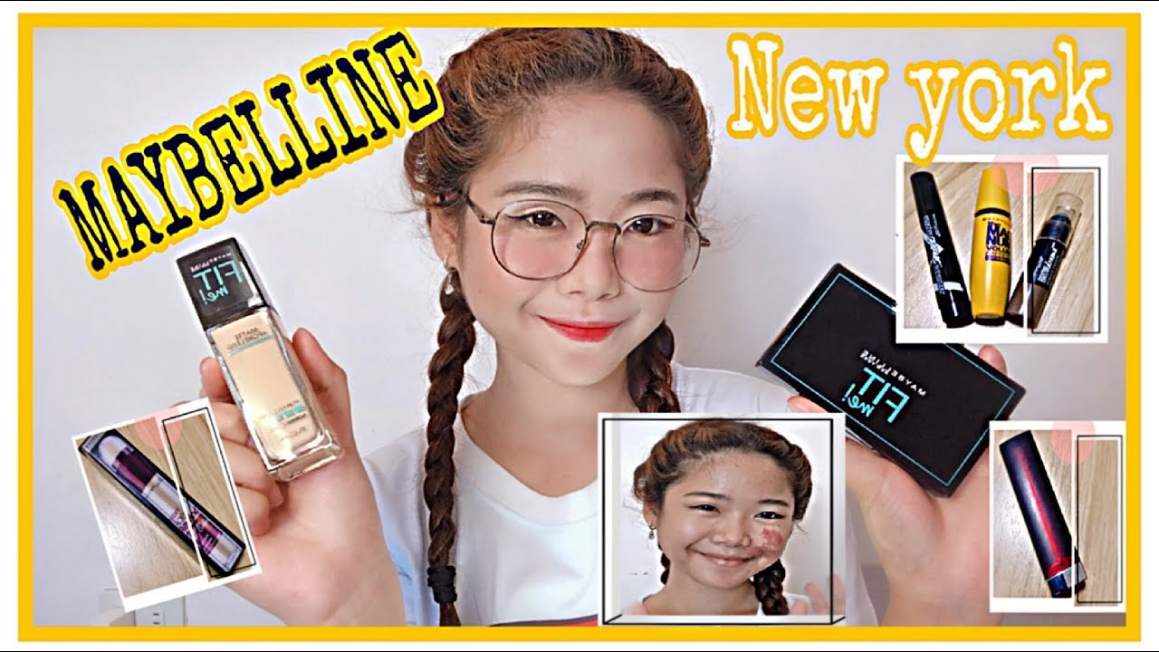 Full Face Using Maybelline New