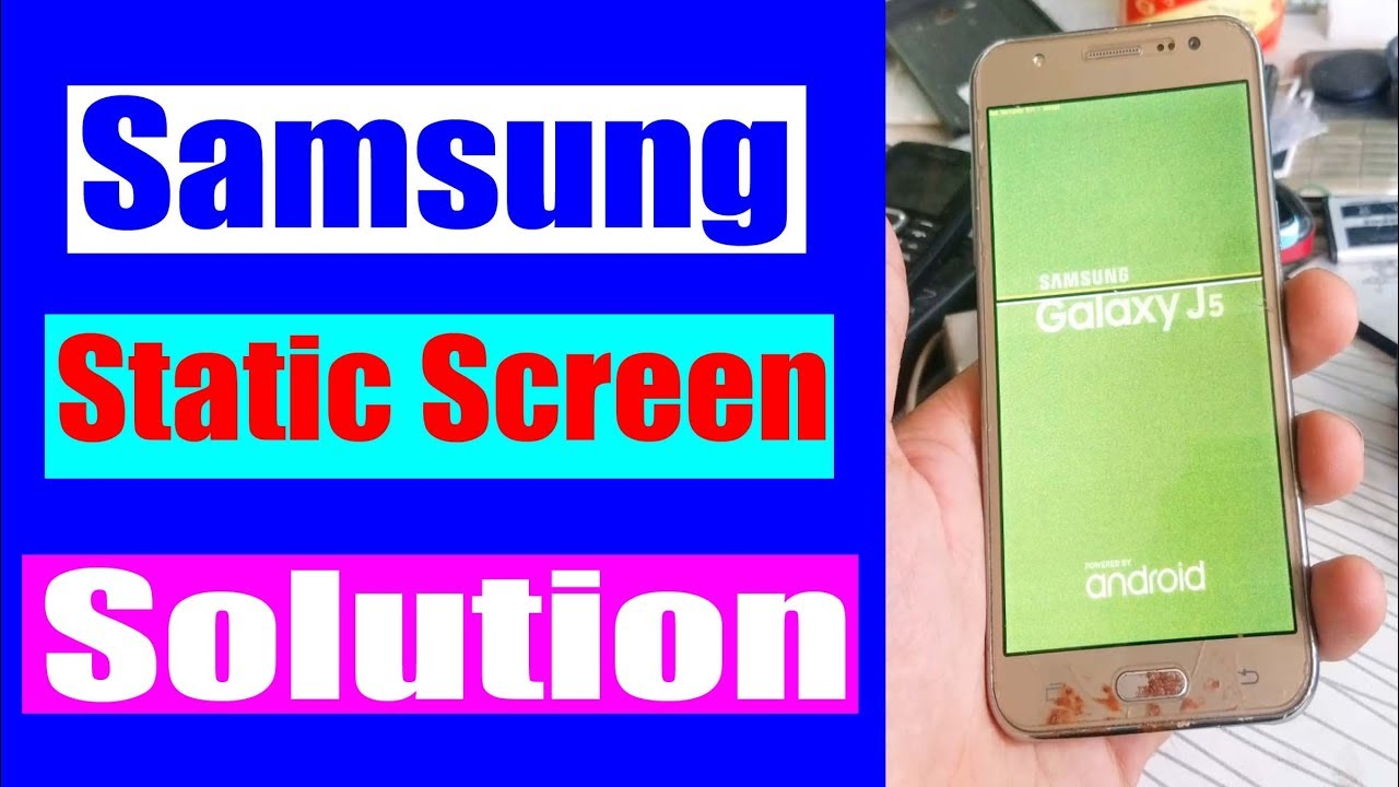How to FIX Samsung Static Phone Screen Ofter TWRP for Root | Urdu Hindi