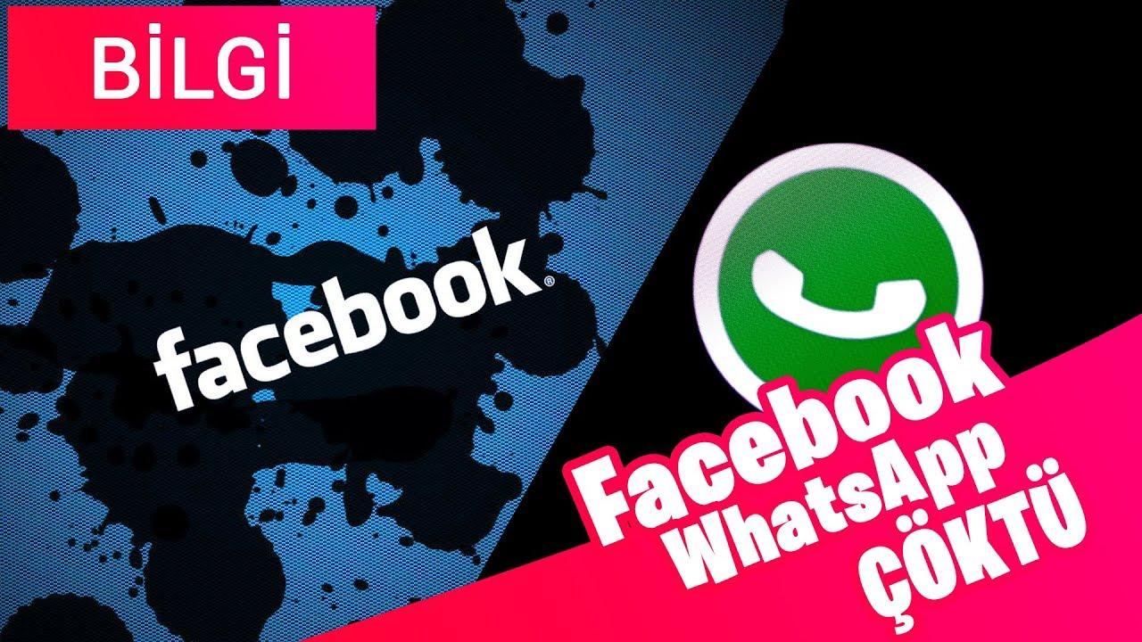 Whatsapp ve Facebook Kapandı ! 2 Saat içinde Neler Oldu ?