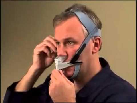 Adjusting The Respironics Optilife Cpap Mask Youtube