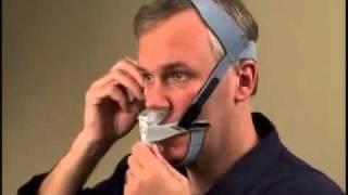 Adjusting the Respironics Optilife CPAP Mask
