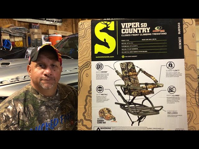 Summit Viper SD Climbing Tree Stand | Unboxing and Review