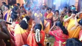 Kummi Adithal by Sakthi Devotees on Aadi Matham Mulaipari Thiruvizha 11/8/2013