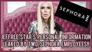 JEFFREE STAR'S PERSONAL INFORMATION LEAKED BY TWO SEPHORA EMPLOYEES ⎮ EXCLUSIVE RECEIPT INCLUDED! thumbnail