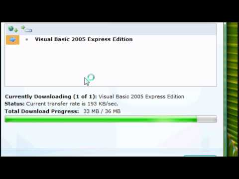 Cara Download Visual Basic 2005