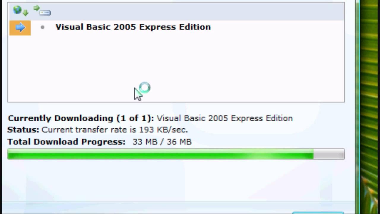 visual studio 2005 free download for windows 7 32 bit