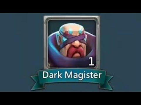 COMPLETE.. 10 Medal Dark Magister