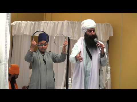 Bhai Sukha Singh Uk - Khalsa Camp Australia 2016 - Puratan Shastar Display