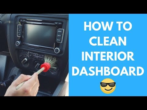 How To Clean Car Dashboard- Vents, Navigation Screen, Turn Signals – Interior Car Detailing