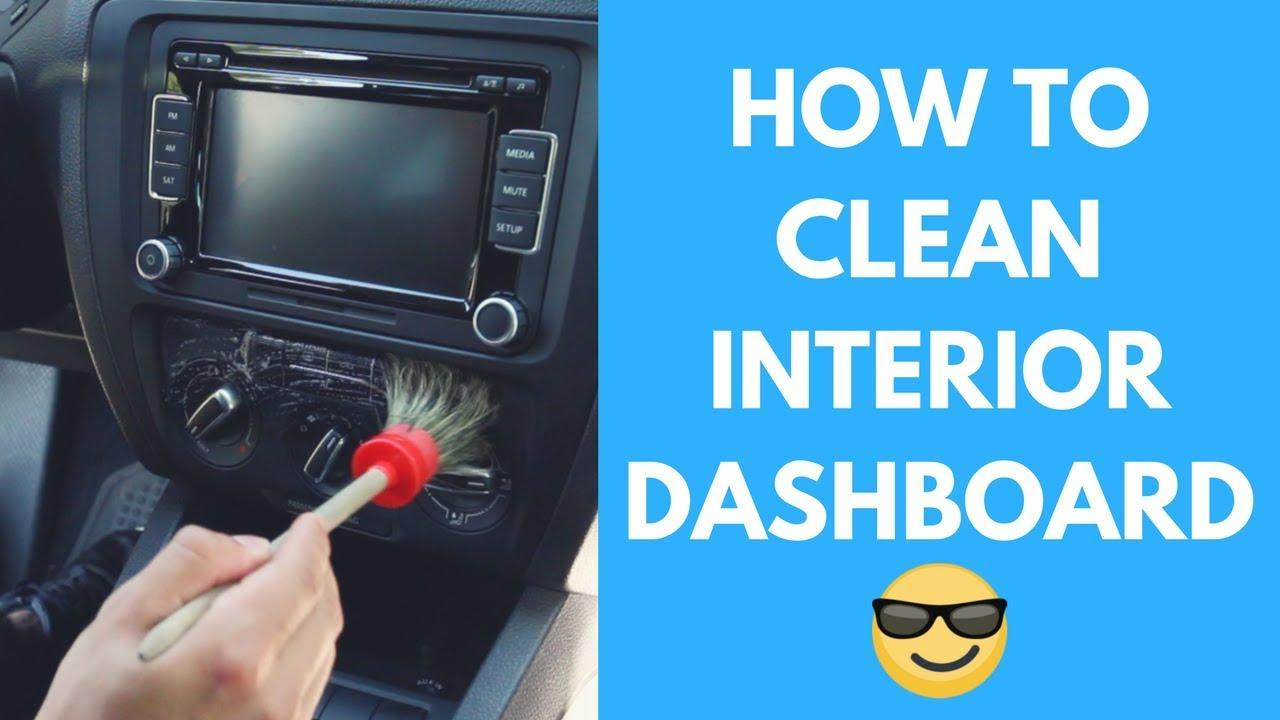 how to clean car dashboard vents navigation screen turn signals interior car detailing. Black Bedroom Furniture Sets. Home Design Ideas