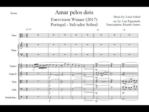 Amar Pelos Dois Transcription Score In Description Youtube