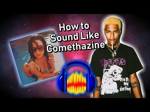 How to Sound Like Comethazine `DEMI` on Audacity! Audacity Vocal Tutorial!  by SleepyButWoke