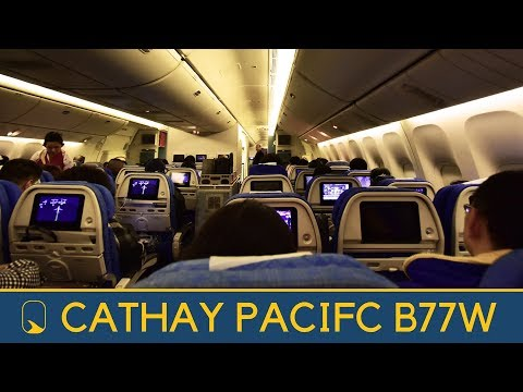 Economy Class | Cathay Pacific CX872 Hong Kong to San Francisco Boeing 777-300ER (Review#38)