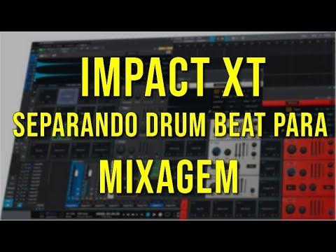 Separando Drum Beat para Mixagem com Impact XT [STUDIO ONE]