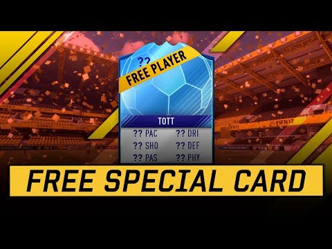 FREE SPECIAL CARD!!! GUARANTEED TEAM OF THE TOURNAMENT PLAYER!!!