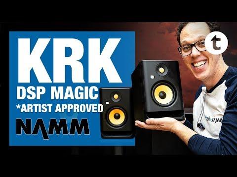 NAMM 2019   New KRK Rokit Generation 4 Studio Monitors   Thomann