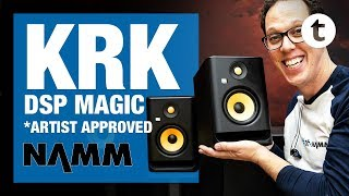 NAMM 2019 | New KRK Rokit Generation 4 Studio Monitors | Thomann