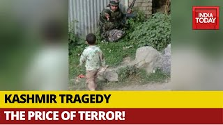 J-K: Image Of 3-Year-Old Boy Crying Over Body Of Grandfather Killed In Firing Sends Tremors