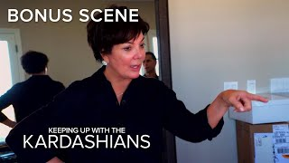 KUWTK | Kris Jenner Puts Finishing Touches to Her Mother's Condo | E!