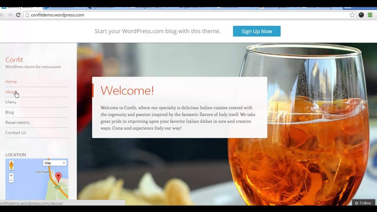 Cómo hacer una página web para tu restaurante - YouTube