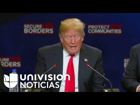 Trump discute sobre inmigración y acciones contra la MS-13